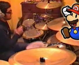 Já viu o Vadrum tocando a música do Super Mario Bros?