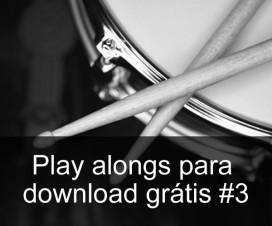 Play Alongs de bateria para download grátis #2