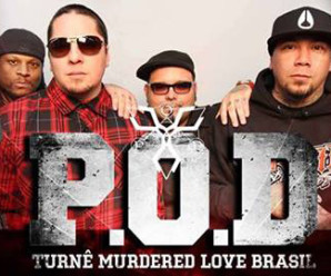 Sorteio de ingresso para o show do P.O.D. em São Gonçalo/RJ
