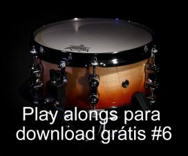 Play Alongs de bateria para download grátis #6