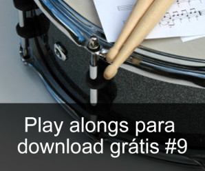 Play Alongs de bateria para download grátis #9