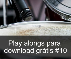 Play Alongs de bateria para download grátis #10 – Gospel