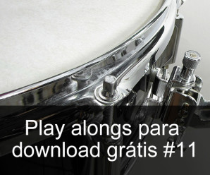 Play Alongs de bateria para download grátis #11