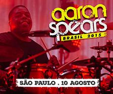 Sorteio de ingresso workshop Aaron Spears em São Paulo