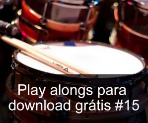 Play Alongs de bateria para download grátis #15