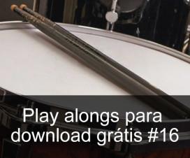 Play Alongs de bateria para download grátis #16