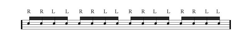 double-stroke