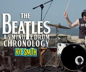Baterista toca todas as músicas da carreira de grandes bandas em apenas 5 minutos