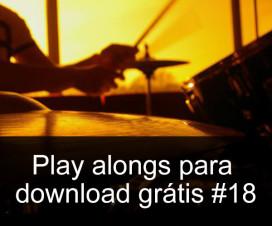 Play Alongs de bateria para download grátis #18