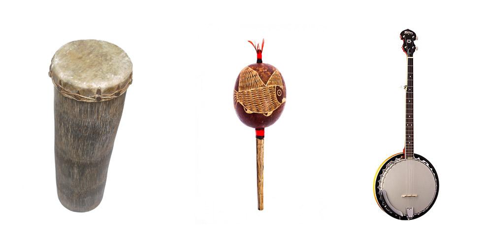 instruments utilizados no carimbo