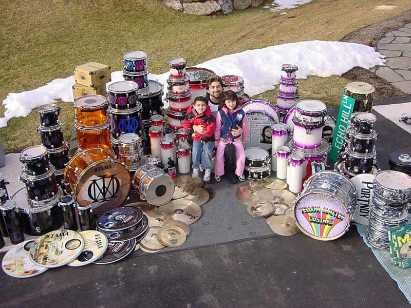 Os Kits mais emblemáticos de Mike Portnoy