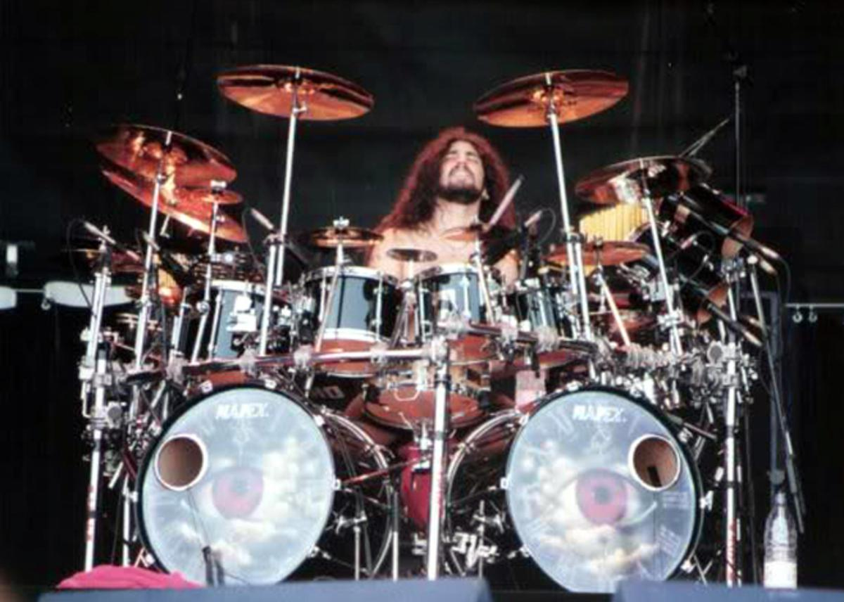 Os Kits mais emblemáticos de Mike Portnoy - Awake Mapex Drum Kit