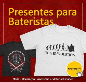 Presentes para Bateristas - Clube do Baterista