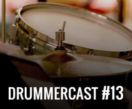 Drummercast 13 - Cursos online de Bateria. Vantagens e desvantagens