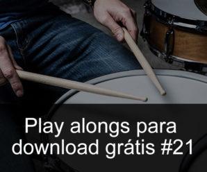 Play Alongs de bateria para download grátis 21